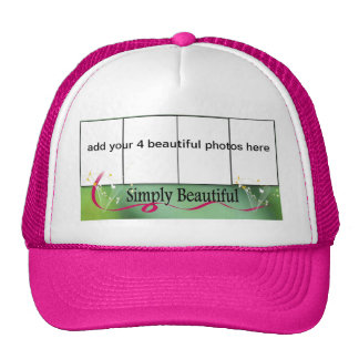 4 photo frame hat
