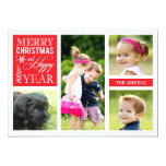 4 Photo  |  Holiday Photo Card Announcement