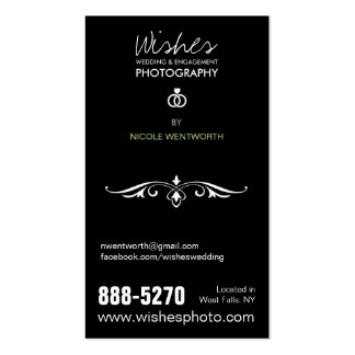 4 Photo Photography Business Cards