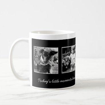 heartlocked 4-Photo Template Personalized Coffee Mug