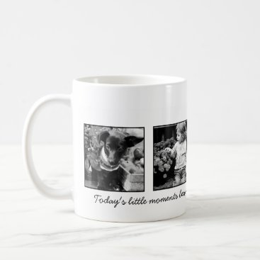 heartlocked 4-Photo Template Personalized Coffee Mug