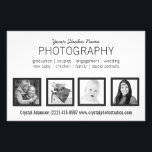 """4 Photos Pro Photographer or Any Profession Flyer<br><div class=""""desc"""">Pro portrait photographers can easily create an effective advertisement for their skills with this stylish and modern design. Showcase your own favorite snapshots and memorable captures of your past clients from your photographic portfolio in this classy four photo template. Crisp, simple style with four square cropped photo frames with thin...</div>"""