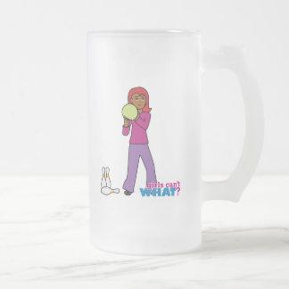 4 que ruedan taza de cristal