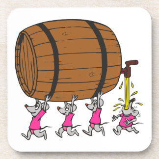4 ratones borrachos posavaso