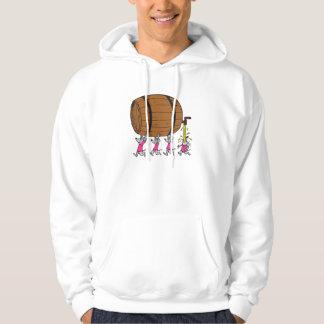 4 ratones borrachos suéter con capucha