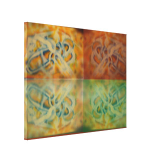 4 Reflections Canvas Print