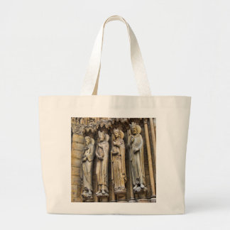 4 reyes Notre-Dame Cathedral Bolsa Tela Grande