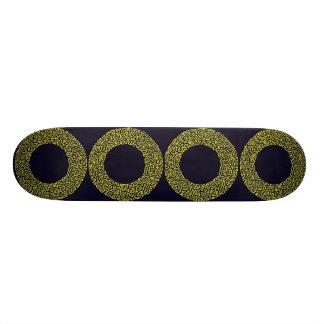 4 Rings Skateboard Deck