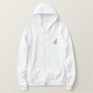 """4"" Rope Number 2.5"" Embroidered Hoodie"