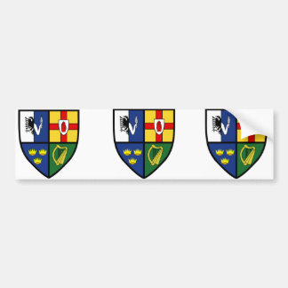 4 s, Irlanda Etiqueta De Parachoque