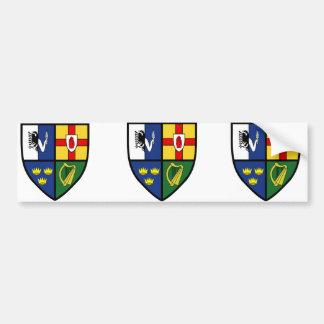 4 s Irlanda Etiqueta De Parachoque