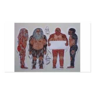 4 Sagittal crest bigfoot Business Cards