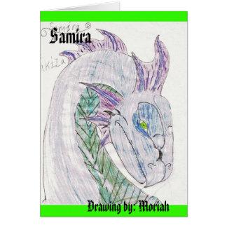 4, Samira, Drawing by: Moriah Card