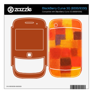4 Seasons Autumn BlackBerry Curve 3G (9300/9330) Decals For BlackBerry