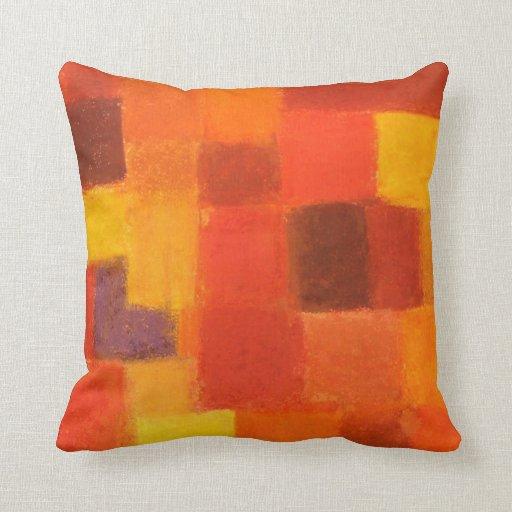 4 Seasons Autumn pueblo Throw Cushion Pillow