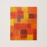 4 Seasons Autumn Puzzle with Tin