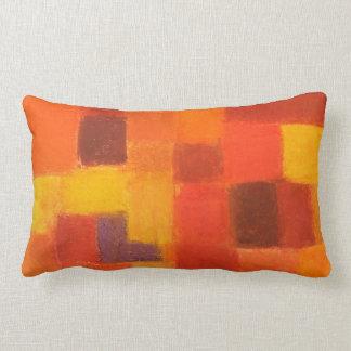 4 Seasons Autumn rust Throw Pillow