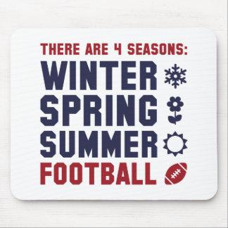 4 Seasons Football Mouse Pad
