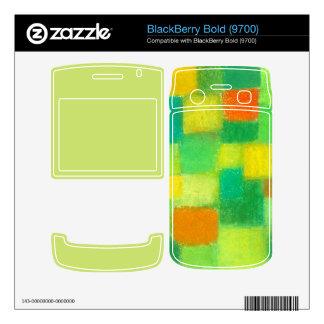 4 Seasons Spring goldenrod BlackBerry Bold 9700 BlackBerry Decal