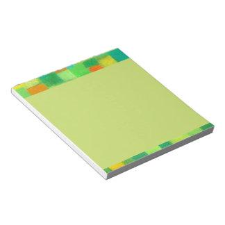 4 Seasons Spring goldenrod Notepad small