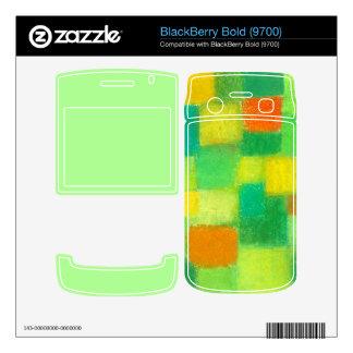 4 Seasons Spring mint BlackBerry Bold 9700 Skin