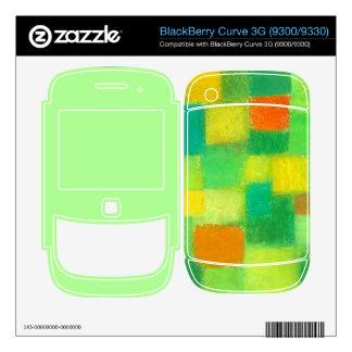4 Seasons Spring mint BlackBerry Curve3G 9300/9330 BlackBerry Skins