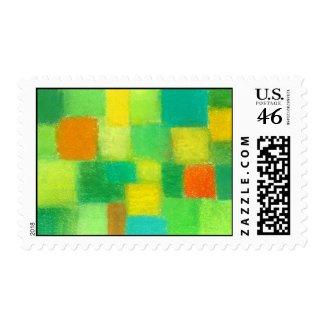 4 Seasons Spring Postage Stamp zazzle_stamp
