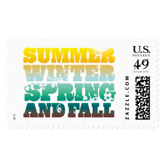4 Seasons Stamp