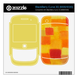 4 Seasons Summer confetti BlackBerry 3G 9300/9330 BlackBerry Curve Decals