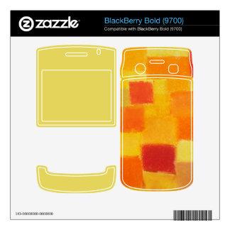 4 Seasons Summer confetti BlackBerry Bold (9700) BlackBerry Bold Skin
