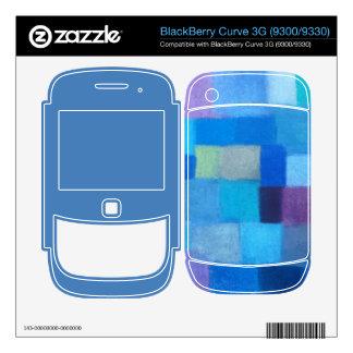 4 Seasons Winter danube BlackBerry 3G 9300/9330 Decals For BlackBerry
