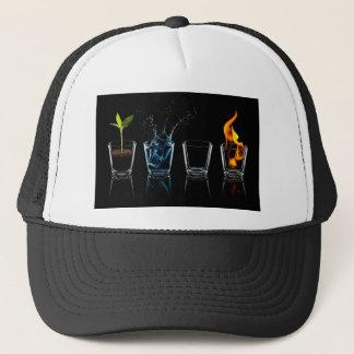 4 signs trucker hat