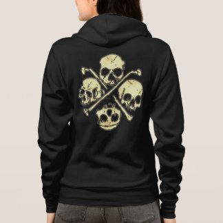 4 Skulls Hoodie
