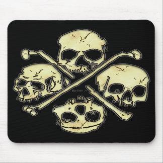 4 Skulls Mousepad