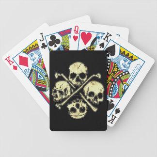 4 Skulls Playing Cards