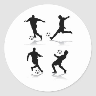 4-soccer-players sticker