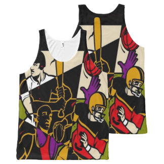 4 Sport All-Over-Print Tank Top