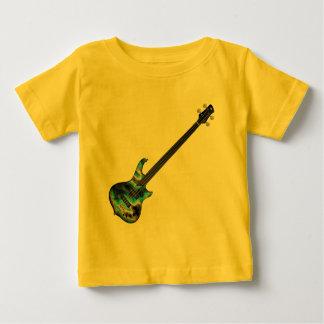 4 String Fretless Bass Guitar-blue Baby T-Shirt