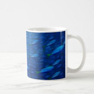 4 subacuáticos tazas de café