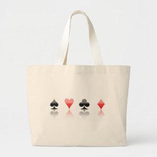 4 Suits (Poker / Cardgames) Canvas Bags