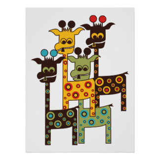 4 Tall-Charlies - LONVIG by MINYMO Poster