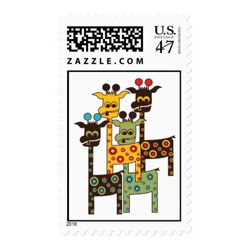 4 Tall-Charlies - LONVIG by MINYMO Stamp