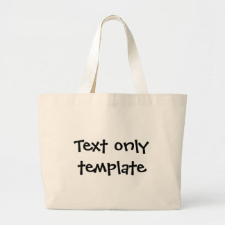 4 - Text only - Canvas Bags