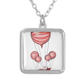 4) the gift - tony fernandes silver plated necklace