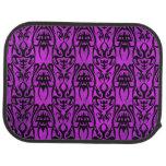 4 tribales rosados/púrpura