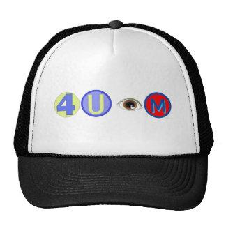 4 u eye IAM Trucker Hat