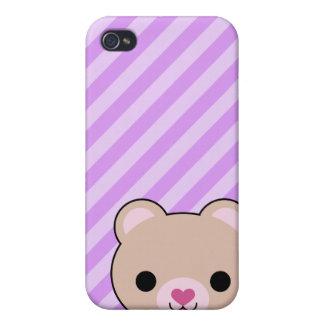4 Uber Cute Kawaii Bear  Cases For iPhone 4