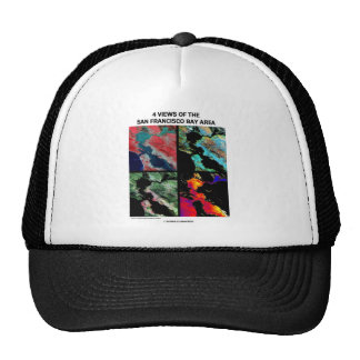 4 Views Of The Bay Area (Satellite Imagery) Hat
