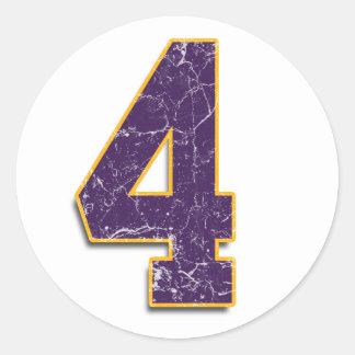 4 Vikings Brett Favre sticker