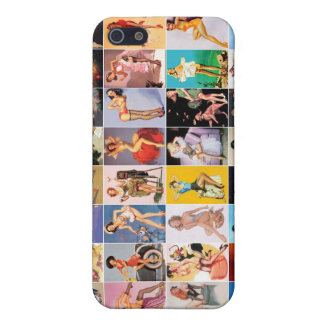 4 Vintage Retro Pin-up Girl iPhone SE/5/5s Cover